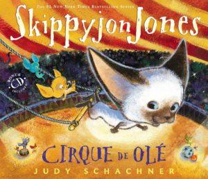 Skippyjon Jones Cirque de Ole Book Cover