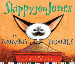 Skippyjon Jones in Mummy Trouble book cover