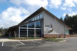 Aquarium Science Building Exterior