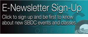 SBDC Newsletter Signup