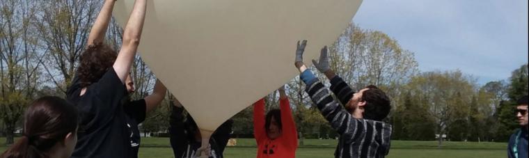 OCCC Stem Launch Balloon