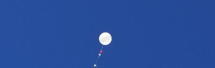 SOAR High Altitude Balloon Launch Photo