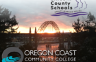 Oregon Coast Community College with Newport Bridge