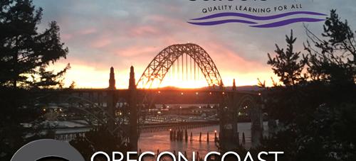 Oregon Coast Community College with Newport Bridge