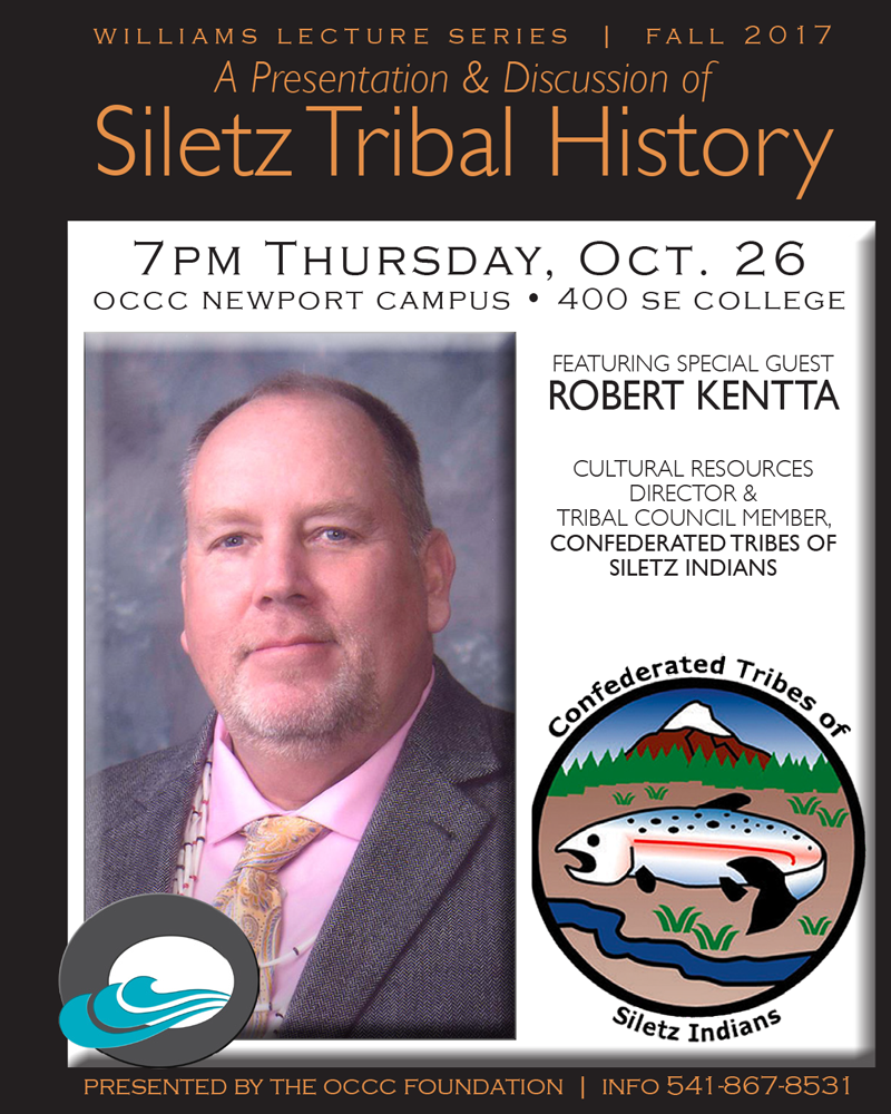 Siletz Tribal History Lecture