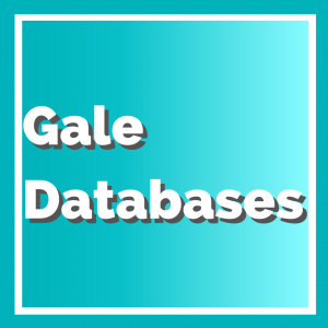 Gale Databases Button