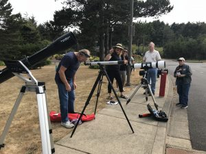 Telescopes at the College