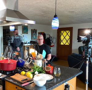 Kitchen and cameras